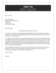 Cover Letter Examples For Human Resources Manager Cover Letter