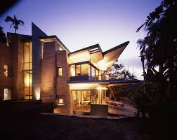frank lloyd wright inspired home with lush landscaping luxury living frank lloyd wright inspired homes christie s