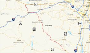 State Abbreviations Map by New York State Route 145 Wikipedia