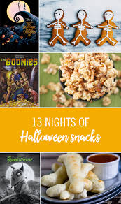 13 spooky snacks for 13 nights of halloween babble