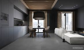 Gorgeous Homes Interior Design Black On Black Kitchen Design Modern Black And Wood Bathroom With