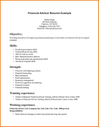 Sample Resume Word by Resume Personal Financial Advisors Head Chef Resumes