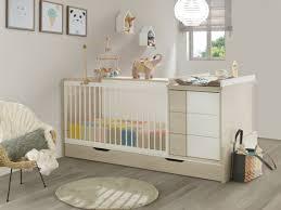 chambre bébé galipette lit bébé combiné évolutif 70x140cm 5 en 1 bibliothèque au