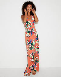 what is a maxi dress floral high slit maxi dress express