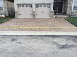 Concrete Driveway Paver Molds by Rough Cut Stone Stamped Concrete Driveway With Small Ashlar Slate