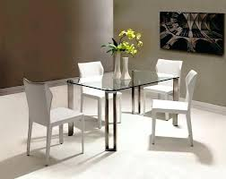 small dining table set for 4 glass top dining table set 4 chairs image of small glass top dining