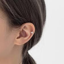 best cartilage earrings stacking cartilage earrings hoop ear piercings serendipity in