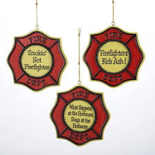 Fire Department Christmas Decorations by Firefighter Christmas Ornaments Unique Christmas Decorations