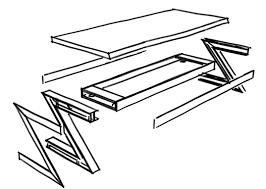 Tisch Schreibtisch Ein Tisch Fürs Ufo Wohnsektion Industriedesign Tisch