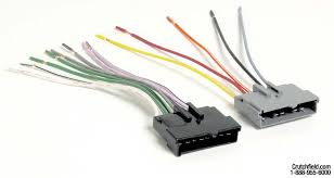metra 70 5002 receiver wiring harness connect a new car stereo in
