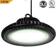 Shop Led Lights Dephen 240w High Bay Led Lighting 32400 Lumen Dimmable Ufo High