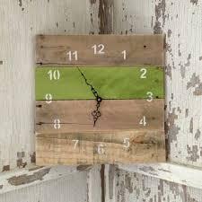 Home Decor With Wood Pallets 280 Best Pallet Clocks Images On Pinterest Pallet Clock Wood