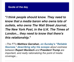 quote of the day new york times brian stelter on twitter