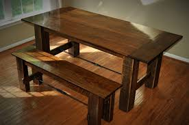 reclaimed walnut u0026 oak farmhouse table cz woodworking