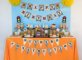 construction birthday party owlie powlie
