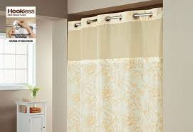 Hookless Shower Curtain Bathroom Shower Curtains Sure Fit Home Decor