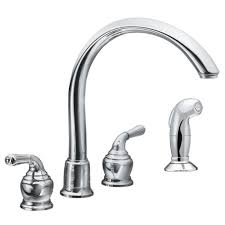 atrio highprofile dual handle kitchen faucet grohe faucet sink