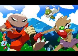 pokemon dragon ball characters awesome game