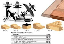 Cabinet Door Plans Woodworking 6 Piece Cabinet Door Making Router Bit Set Toolstoday Industrial