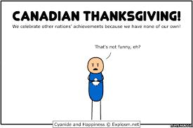 canadian thanksgiving memes