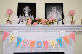 welcome home baby shower it s a girl baby shower decorations gender announcement