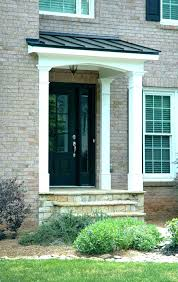 Exterior Door Awnings Awnings For Front Door Awnings Front Doors Hfer