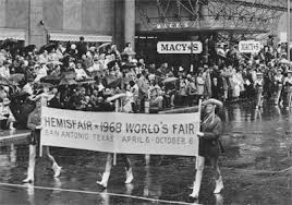 macy s thanksgiving day parade features hemisfair 68 the top shelf