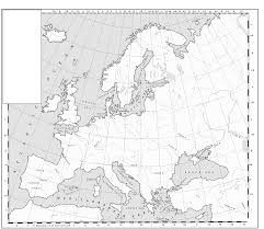 Blank Maps Of Europe by A Blank Map Thread Page 92 Alternate History Discussion
