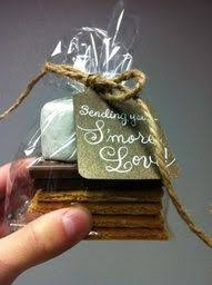 chagne wedding favors wedding favor change of plans to this what do you think smores
