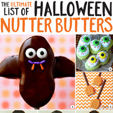 the ultimate list of halloween nutter butters chickabug