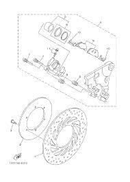 2006 yamaha roadliner xv19v rear brake caliper parts best oem