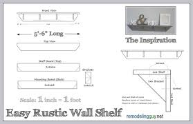 Free Wood Wall Shelf Plans by 10 Easy Diy Shelves Tutorials Plans And Ideas