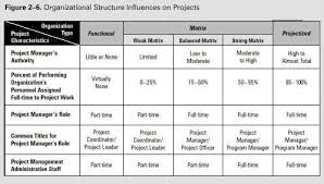 functional managers chapter 2 the project management context