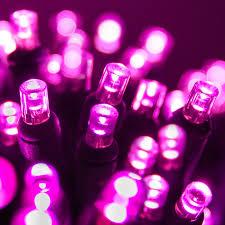 pink led lights decor