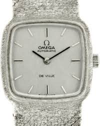 gold omega bracelet images Lady 39 s white gold omega de ville bracelet watch lady 39 s whi flickr jpg