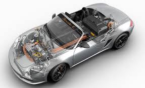 Porsche Boxster New Model - porsche publicly debuts its electric boxster e but it u0027s not for