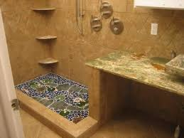 Tile Bathroom Floor Ideas Bathroom Shower Flooring Options Really Encourage Floor Tile And