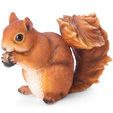 tom chambers squirrel garden ornament on sale fast delivery