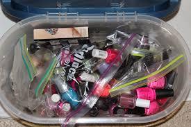 a beauty lush my nail polish collection
