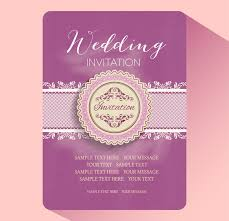 wedding invitation card wedding invitation card templates free vector in adobe illustrator