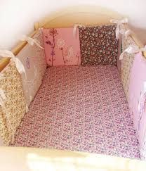baby crib bumper pad pink crib bumpercrib rail cover baby