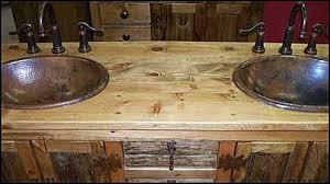 rustic bathroom sinks and vanities rustic bathroom makeovers on a budget rustic bathroom vanity log