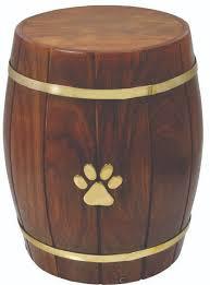 pet urn barrel pet urn pet cremation services