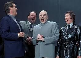 Meme Evil Laugh - dr evil laugh blank template imgflip