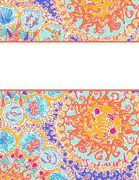 eva darling lilly pulitzer binder covers 2017 free cute