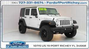 charcoal grey jeep rubicon ford of port richey vehicles for sale in port richey fl 34668