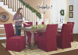 dining room cool christmas dining room chair covers decoration
