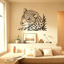Awesome Wall Decor by Leopard Print Decals For Walls Latest Leopard Print Wall Art Wall