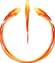 fuochi d artificio clipart immagine vettoriale gratis fiamma anello fuochi d artificio