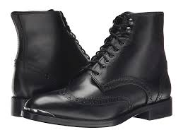mens leather motorcycle boots for sale the kooples smooth leather military boot in black for men lyst